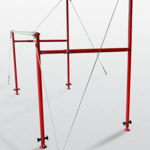 Parallel bars gymnastics uneven bars