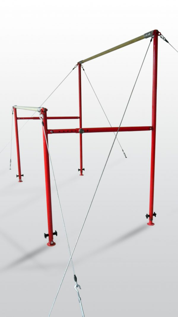 Parallel bars gymnastics uneven bars
