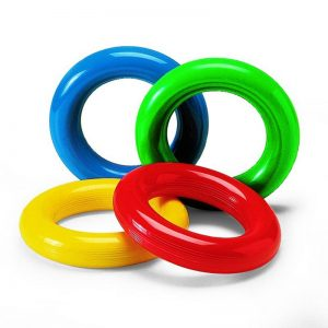 Color rubber ring diameter 18 cm