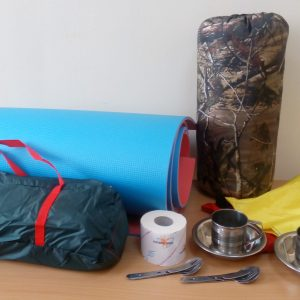 Set tourist bivouac (equipment)
