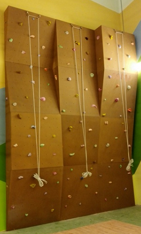 Equipment for climbing wall