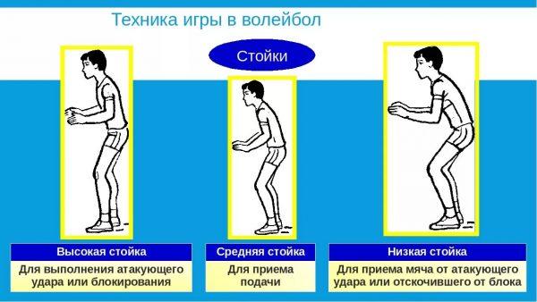 Plakat-dlya-uroka-fizkultury-Volejbol-stojki-volejbolista