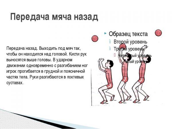 Plakat-dlya-uroka-fizkultury-Volejbol.-Priyom-myachaperedacha-nazad