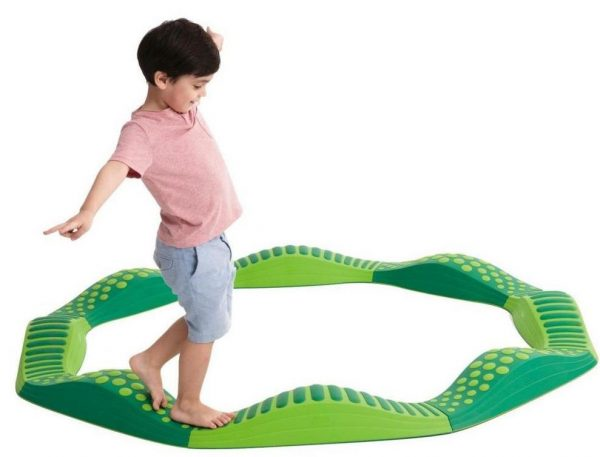 Tactile track green