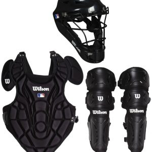 Catcher's protective elements