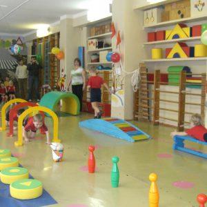 Стандартная комплектация спортивного оборудования для детского сада